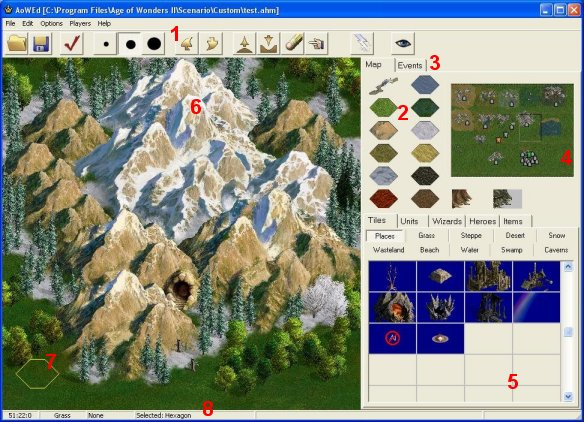 Age of wonders ii heaven aow2 editor interface intro if youre new to map editing and scenario design this section serves to show that the editor is really very easy to use gumiabroncs Image collections
